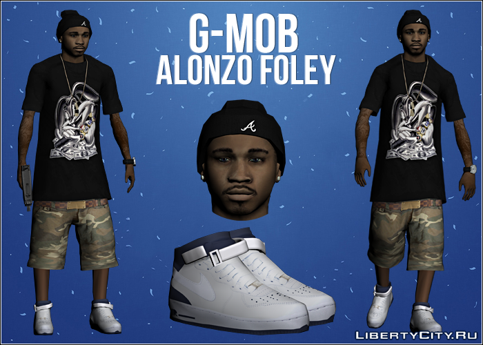 Alonzo Foley skin gta:sa