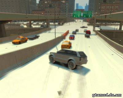 Ice roads for GTA 4