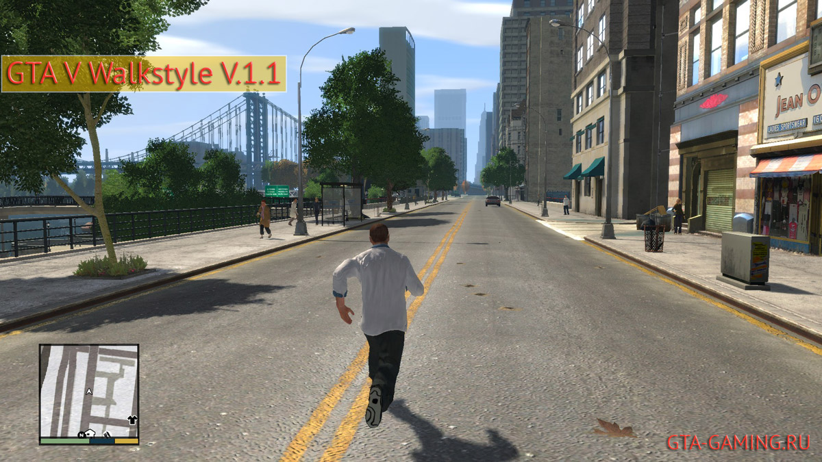 GTA V Walkstyle V.1.1
